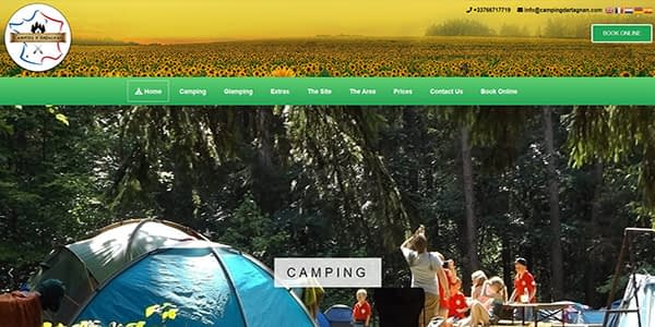 Camping d'Artagnan Screenshot
