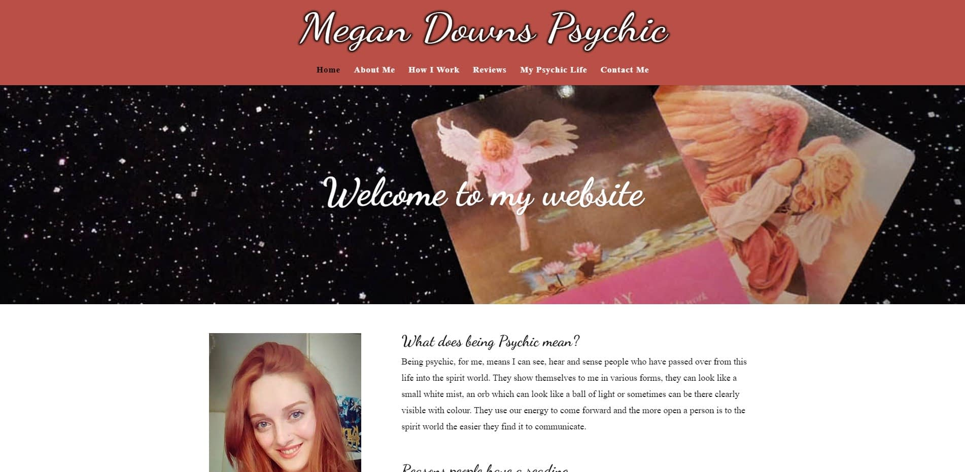 Megan Downs Psychic Screenshot